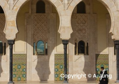 Casablanca HassanII mosque